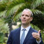 Britain's Raab says EU should stop treating N.Ireland as 'separate country'