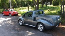 Volkswagen New Beetle pickup truck conversion is certainly unique
