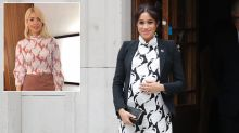 Holly Willoughby takes royal style notes from Meghan Markle in high street outfit