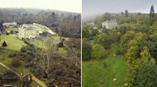 The Great Storm of '87: Amazing 'then and now' pictures show transformation of battered British landscape