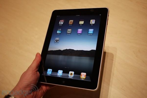 Apple iPad first hands-on! (update: video!)
