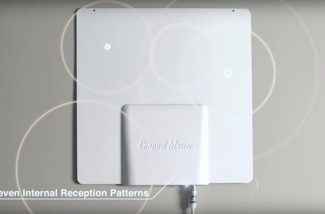 Smartenna+ emulates seven TV antennas to find the best OTA signal