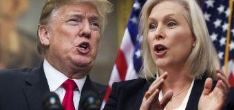 Trump's 'sexual' tweet against N.Y. senator
