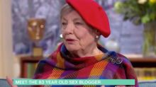 'Sex gets better as you get older!': This Morning viewers praise 83-year-old sex blogger