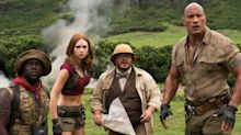 Dwayne Johnson breaks out the smoulder in new Jumanji: Welcome to the Jungle trailers
