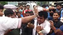 Public thrashes a man in Burdwan over indecent proposals to a woman
