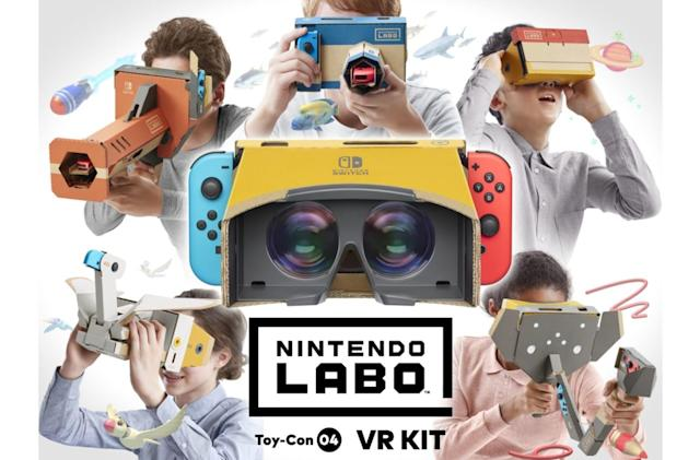 Nintendo's next Labo kit brings VR to Switch on April 12th