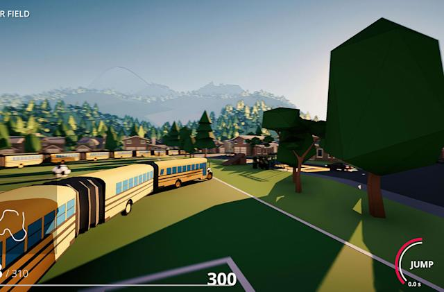 Relive 'Snake' as an ever-growing bus in 'Snakeybus'