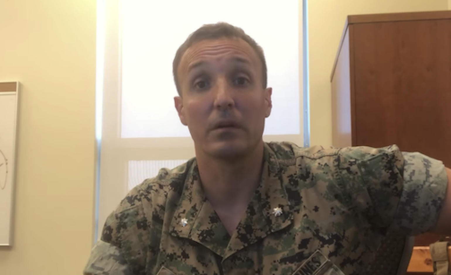 Military judge goes light on 'outstanding' Marine who blasted military brass for botched Afghan pullout