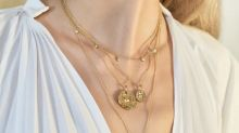 This is how you stack necklaces for that added touch of glamour