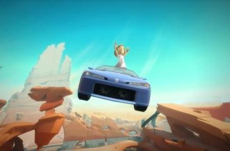 Joyride now a Kinect title, adds motion controls