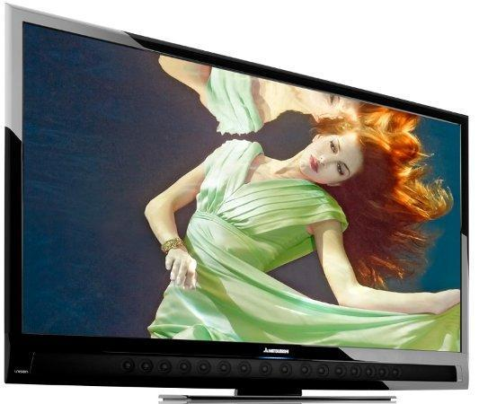 Mitsubishi's Unisen LCD HDTVs, now with more speakers, LED, WiFi, apps, cowbell