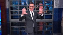 Colbert Rips GOP's Favorite New Trump Talking Point With Some Pizazz