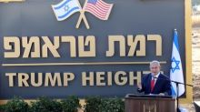 Israel launches 'Trump Heights' on Golan, but construction may lag