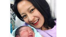 Skye Chan welcomes baby number three