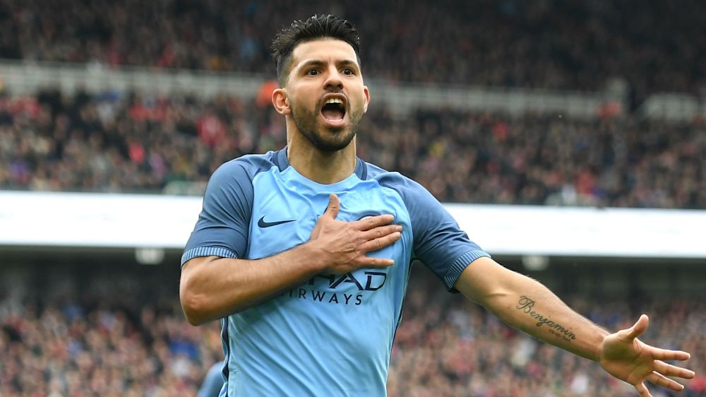 Aguero becomes Premier League's top-scoring non-European