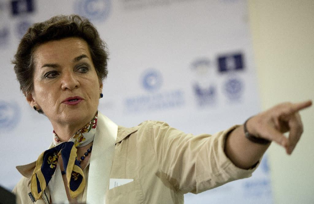 UN climate chief Christiana Figueres is due to visit Australia (AFP Photo/Noel Celis)