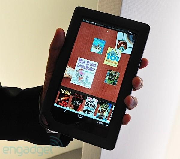 Nook Color first hands-on! (updated: with video)