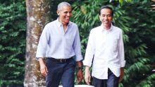 """Barack Obama levou seu glorioso estilo """"paizão"""" à Indonésia"""