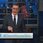 Stephen Colbert creates Devin Nunes parody Twitter account in response to lawsuit