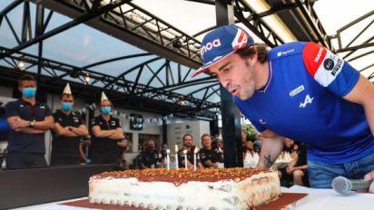 F1 - GP de Hongrie - Alonso, la quarantaine rugissante