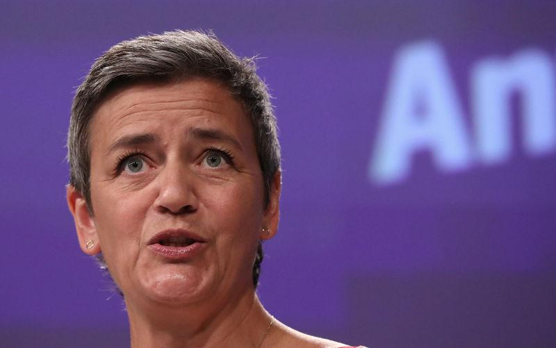EU's Vestager says Apple Pay has prompted many concerns