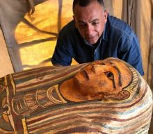 Archaeologists unearthed 27 sarcophagi in an ancient Egyptian city of the dead. They've been sealed for more than 2,500 years.