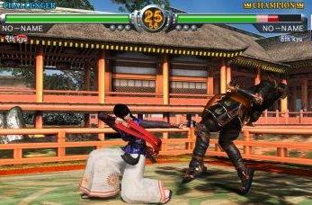 Namco Vs. Sega -- the future of fighting is in your hands!