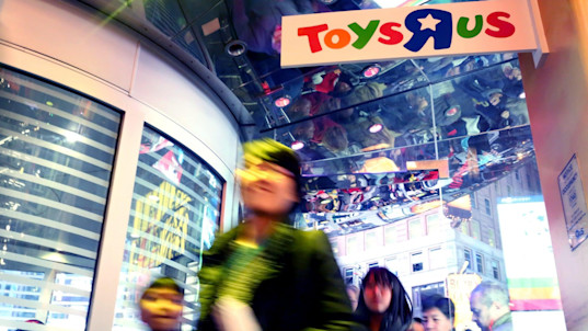 Trouble in toy town: it's time to grow up for Toys R Us and Lego