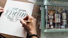 英國倫敦好去處:文青必到的西洋書法店舖推介
