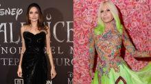 Donatella Versace faz todos os vestidos de Angelina Jolie, mas nunca a conheceu