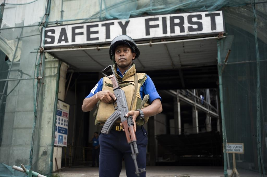 Sri Lanka's security agencies have faced heavy criticism for failing to act on warnings given by both its own Muslim community and Indian intelligence ahead of the blasts (AFP Photo/Jewel SAMAD)