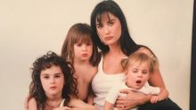 See 9 Times Demi Moore Twinned with Her Daughters, in Honor of Her Birthday