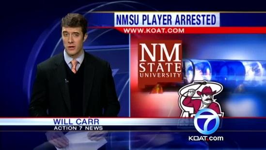 Aggie player faces serious charges
