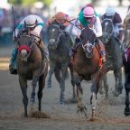 Horse racing-Controversial Kentucky Derby winner Medina Spirit barred from Belmont