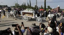 Documents show large police presence at George Floyd burial