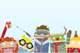 Google's Androidify holiday wardrobe update lets your bot ring in the New Year