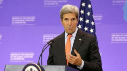 Kerry, on private travel to Nice, to visit American hurt in attack