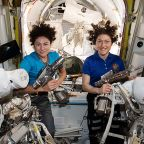 First all female spacewalk to happen Friday morning with astronauts Christina Koch, Jessica Meir