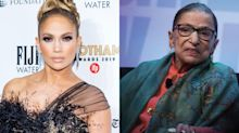 Jennifer Lopez shares the marriage advice she got from Ruth Bader Ginsburg