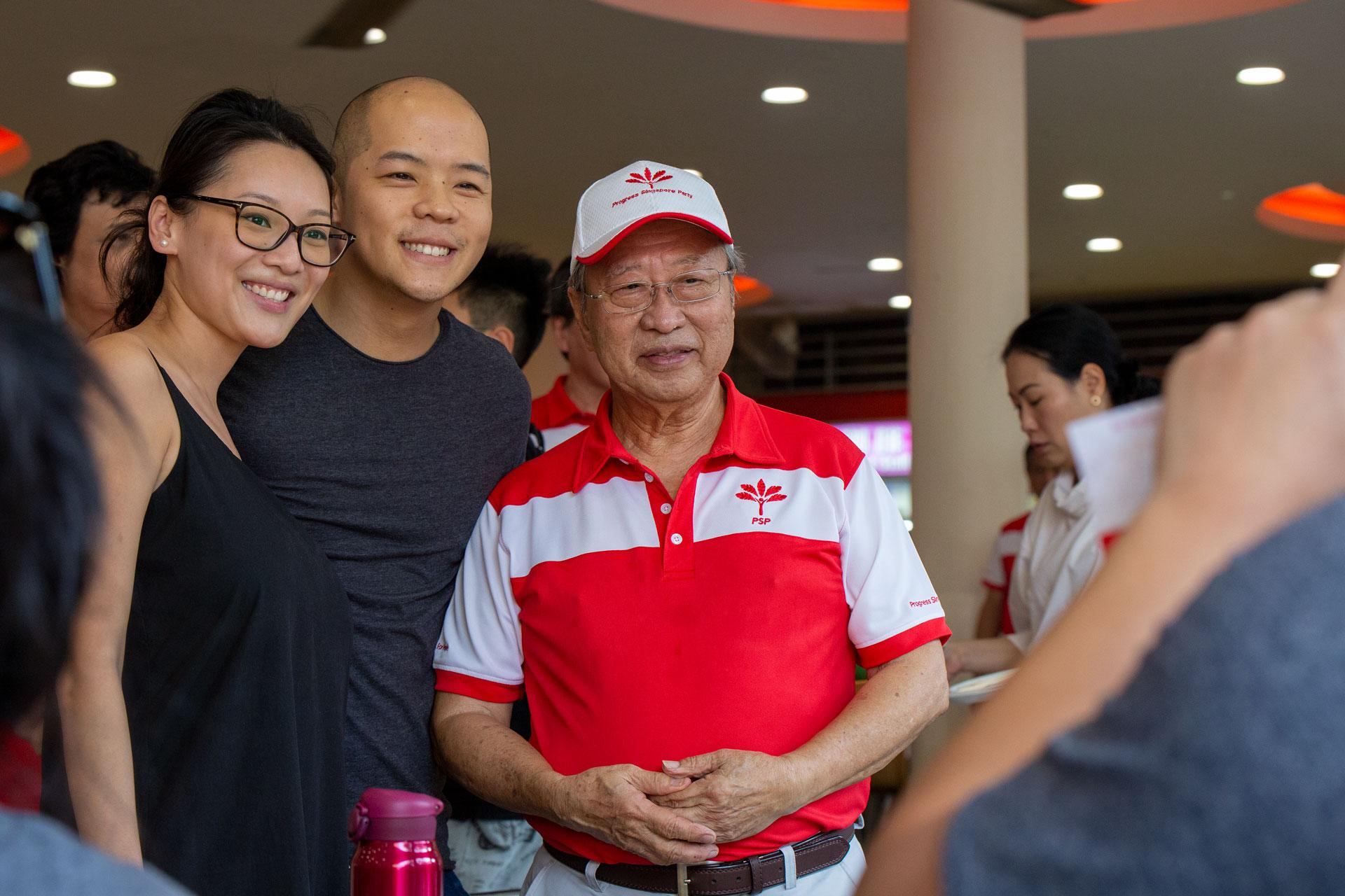 PSP's younger members given room to 'manage the ground', says leader Tan Cheng Bock after party's first islandwide walkabout