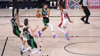Celtics use second-half surge to keep season alive