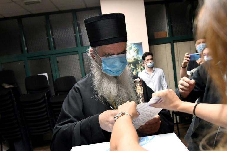 A law passed last year sparked intense controversy with the Serbian Orthodox Church