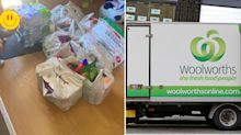 Woolworths shopper left feeling 'violated' after online delivery fail
