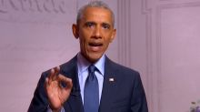 Obama: 'Trump hasn't grown into the job, because he can't'