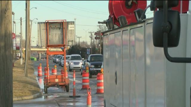 Repairs to 33rd and Memorial water line break to take all day