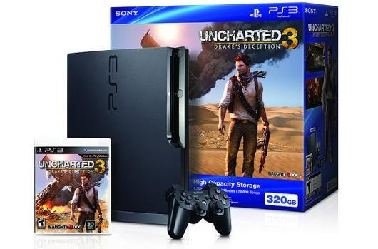 Drake advantage of a great deal on a PS3 Uncharted 3 bundle