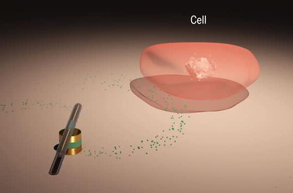 World's smallest nanomotor can pump drugs into cells at 18,000 RPM