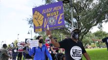 Black men's votes courted as some search for political home