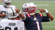 Cam Newton struggled in Week 3 vs. the Raiders, but the Patriots carried him